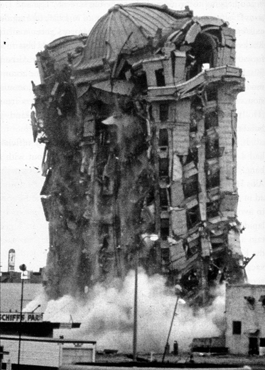 traymore implosion